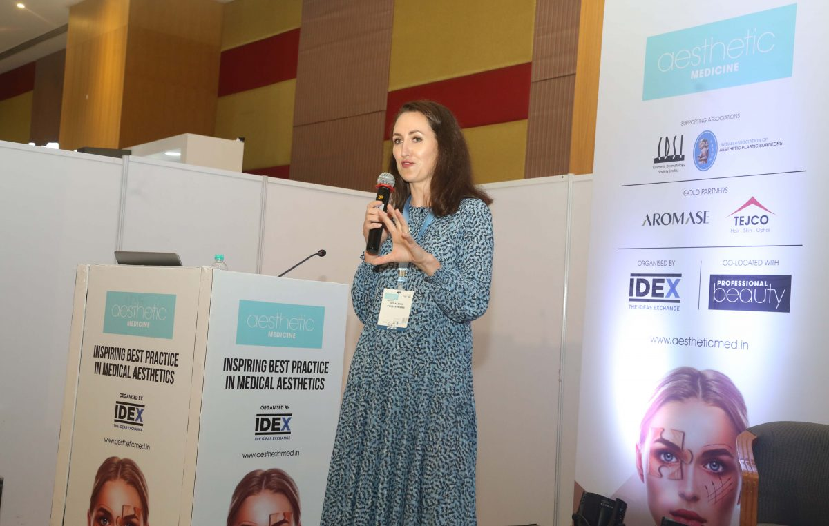 """""""Engage the consumer in an educational way,"""" says Geraldine Schefermann of Dermalogica"""