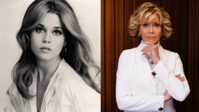 Jane Fonda bids adieu to plastic surgery